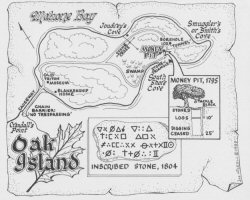 Oak Island Illustration
