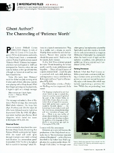 Ghost Author? article