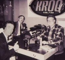 Nye, Allen and Nickell at KROQ