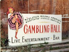 Gambling Hall sign