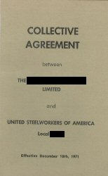Collective Agreement book
